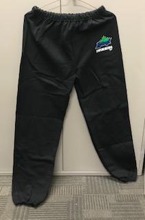 Black Island Swimming track pants with logo