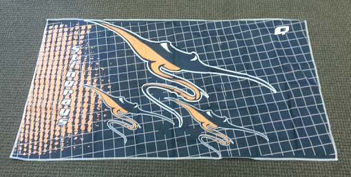 Duncan Swim Team towel