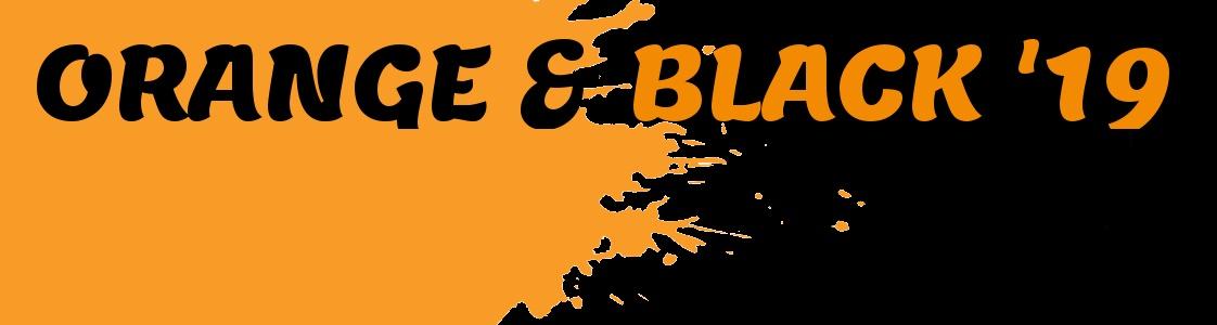Orange & Black I image