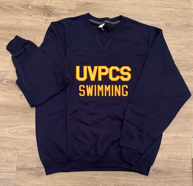 College Lettered Sweatshirt