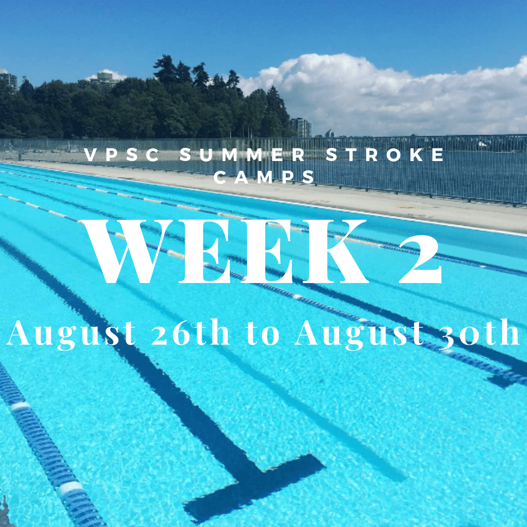 VPSC Summer Stroke Camp Week 2 - August 26-30 image