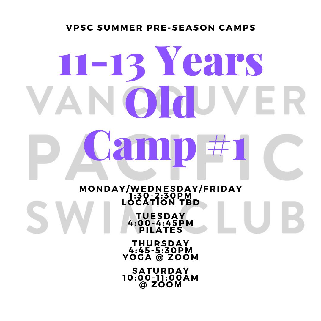 Pre-Season Summer Camp - 11-13 Years Old 1:30PM Group image