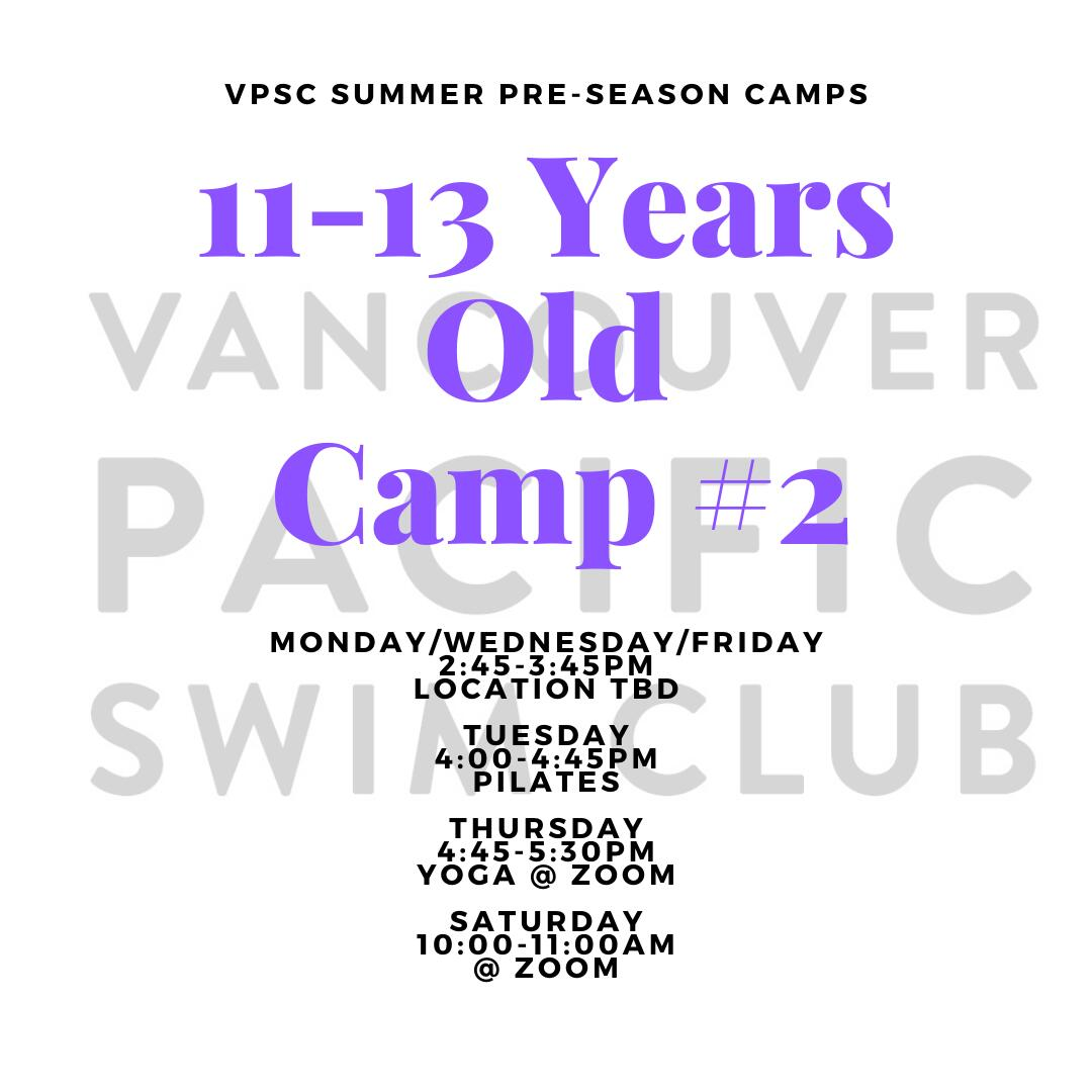 Pre-Season Summer Camp - 11-13 Years Old 2:45PM Group image