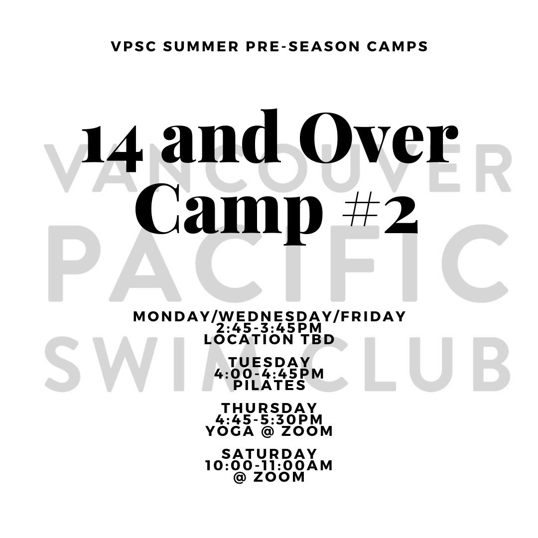 Pre-Season Summer Camp - 14 and Over 2:45PM Group image
