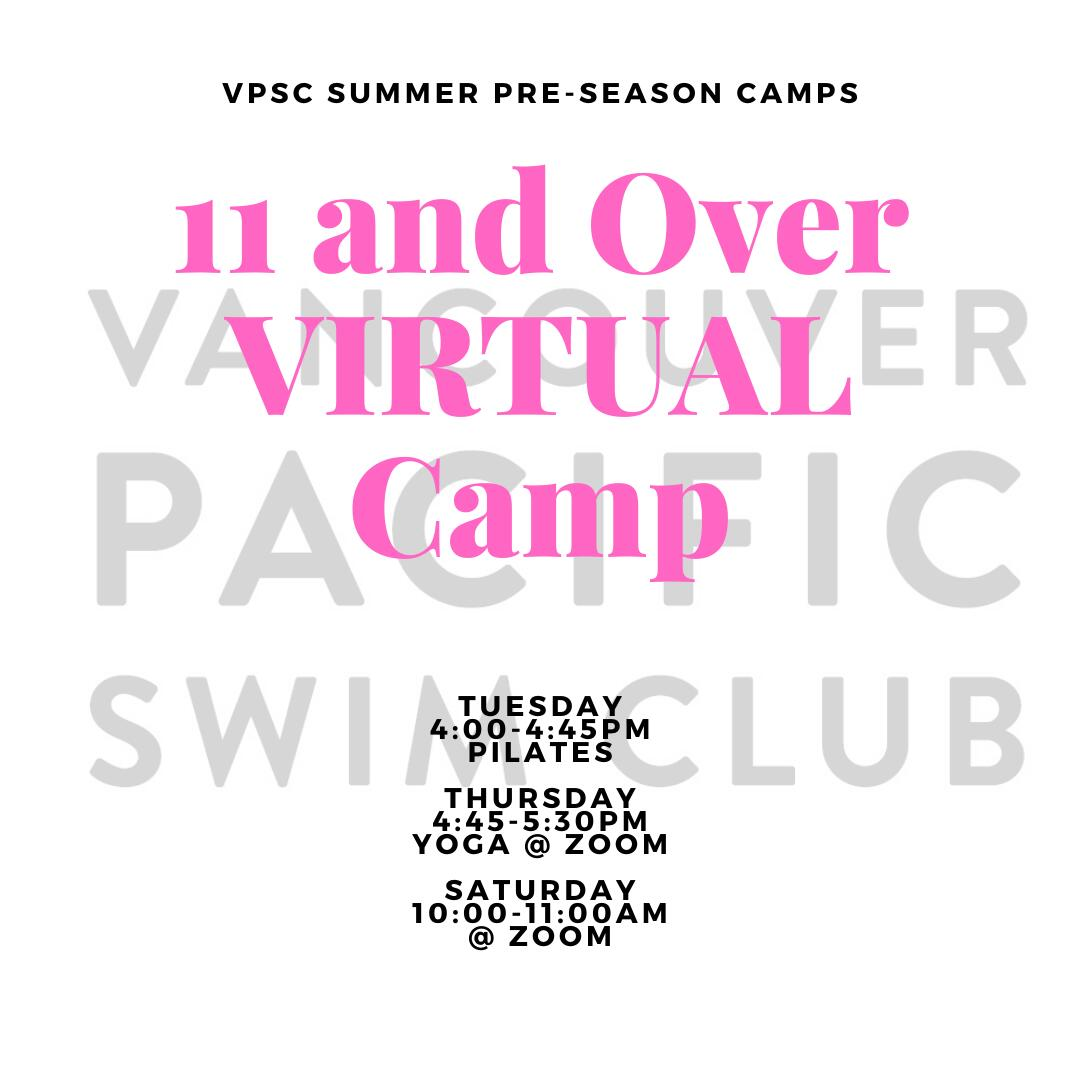 Pre-Season Summer Camp - 11 and Over VIRTUAL camp image