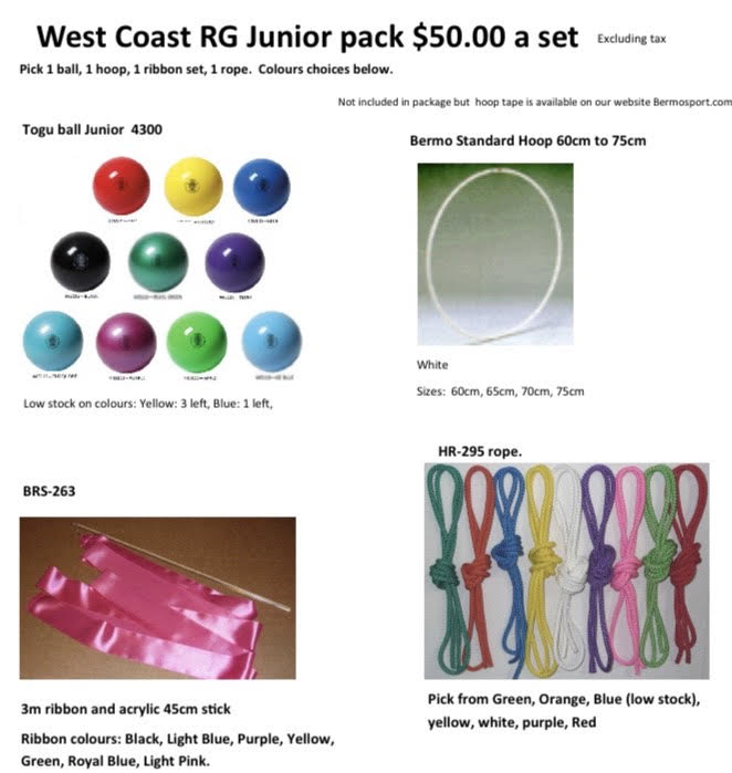 Equipment Set BUY - Junior Size (Age up to 8yrs)